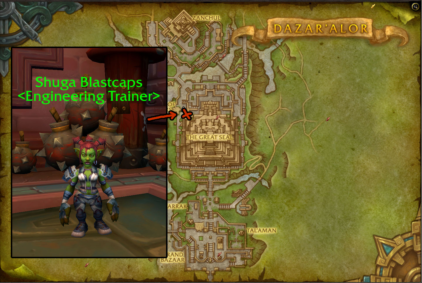 BfA Engineering Leveling Guide 1-175 - WoW Engineering Guide