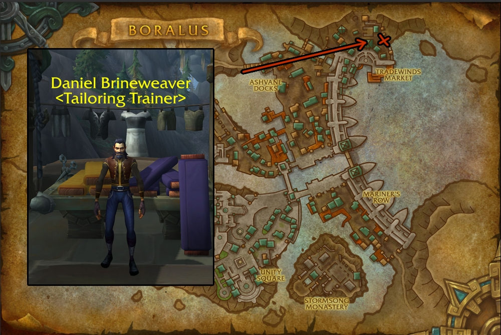 BfA Tailoring Leveling Guide 1-175 | WoW Tailoring Guide