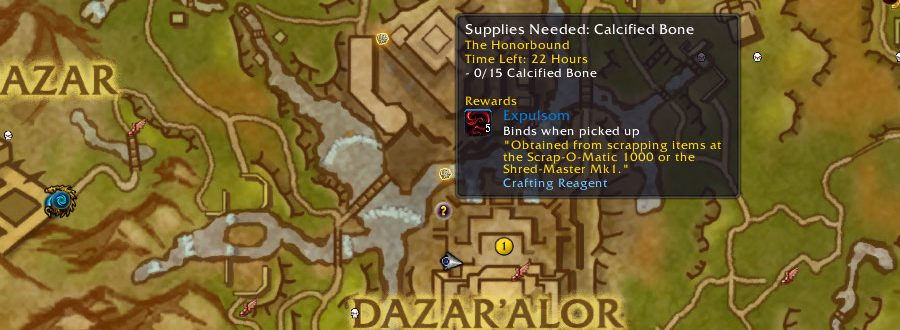 How to get Expulsom in Battle for Azeroth - Expulsom Farming Guide