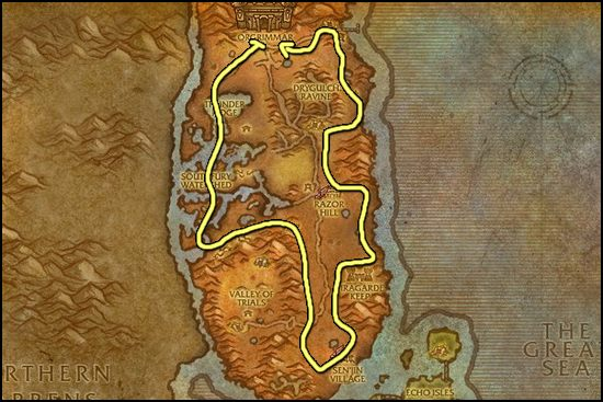 Copper Ore Farming Best Places To Farm Copper Ore WoWProfessions - Ore map