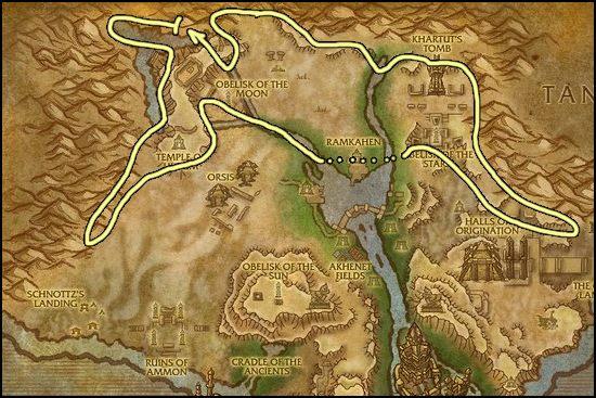 Elementium Ore Farming Best Places To Farm Elementium Ore WoW - Ore map