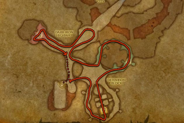 Instance grinding guide