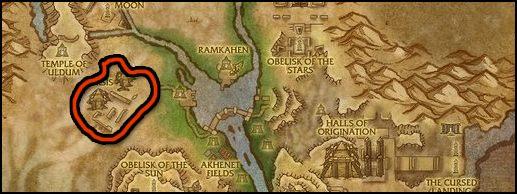 fort livingston wow map