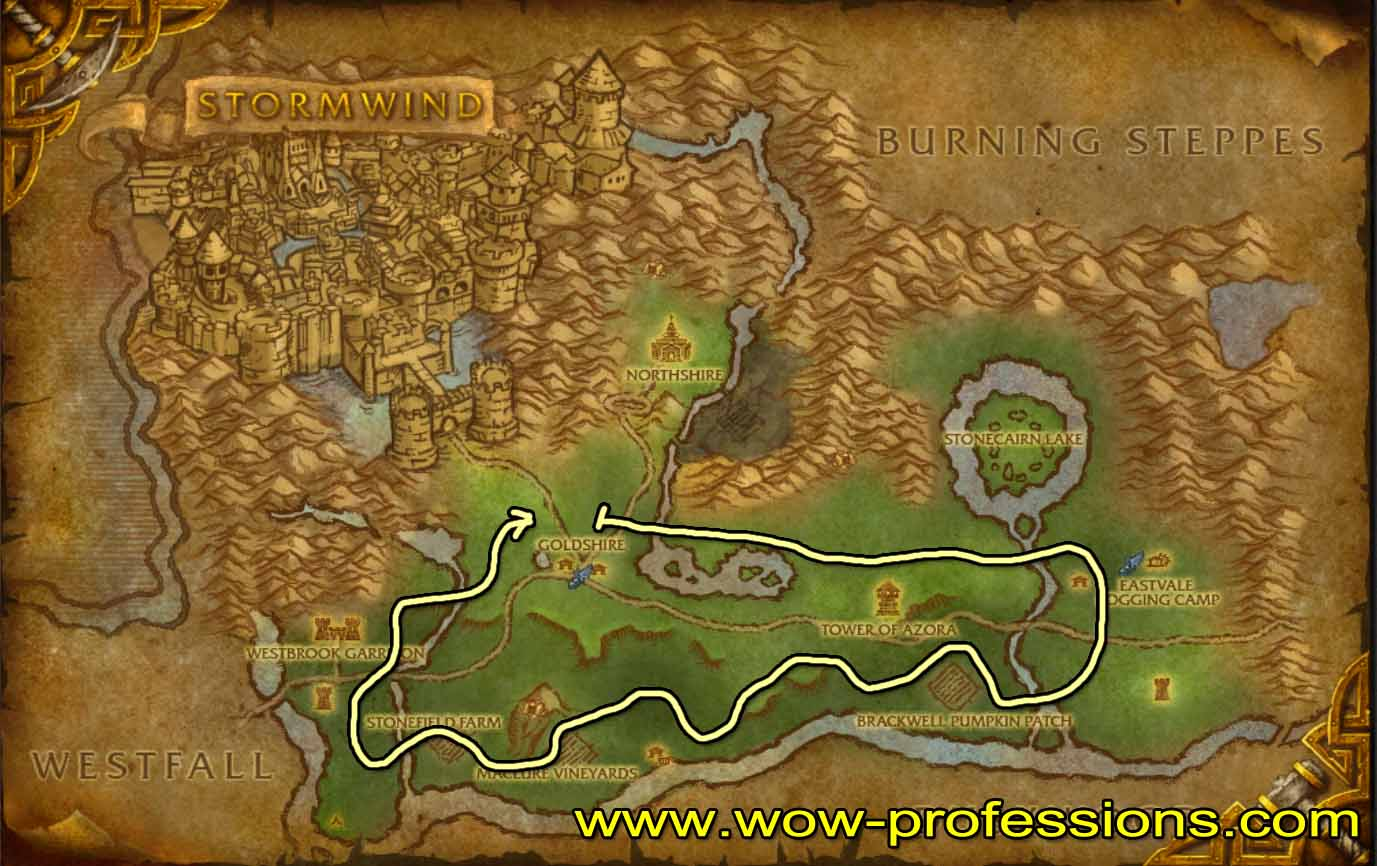 Vanilla Herbalism Leveling Guide 1-300 - (8 2) - WoW-professions