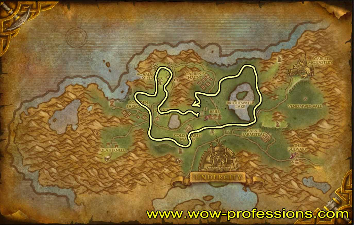 1 525 herbalism guide horde alliance for Cuisinier wow guide
