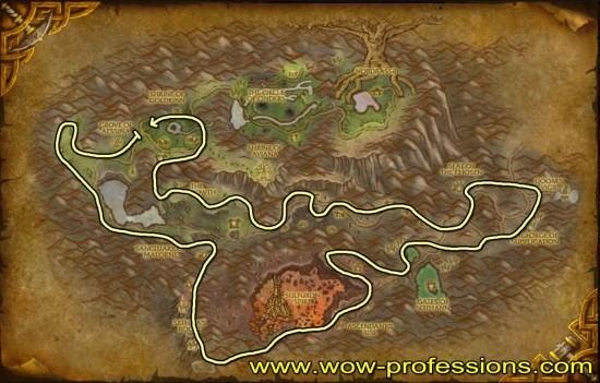 Mount Hyal Mining map