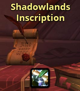 Shadowlands Inscription