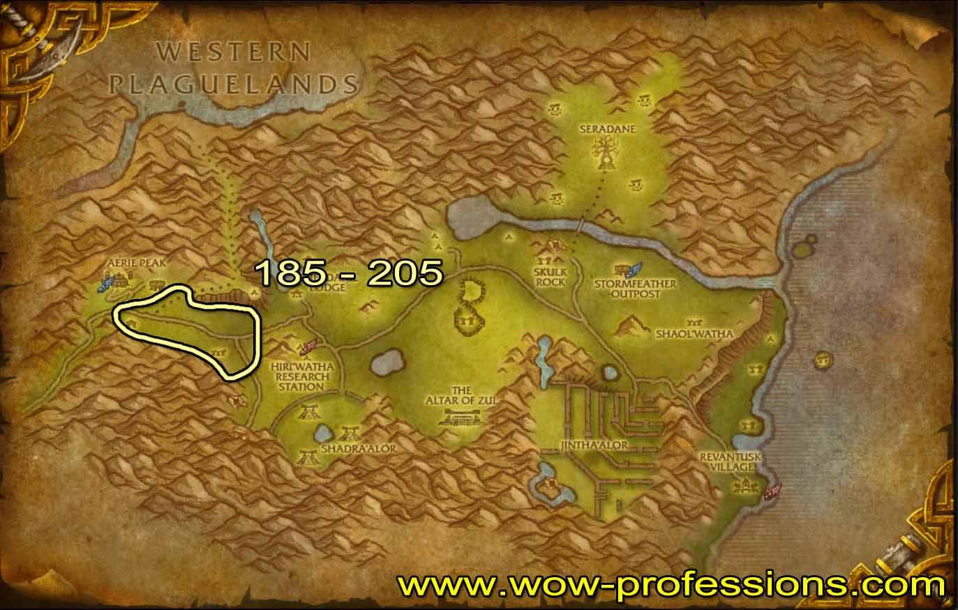 Guía de Desuello 1 -525 Hinterlands-skinning-map