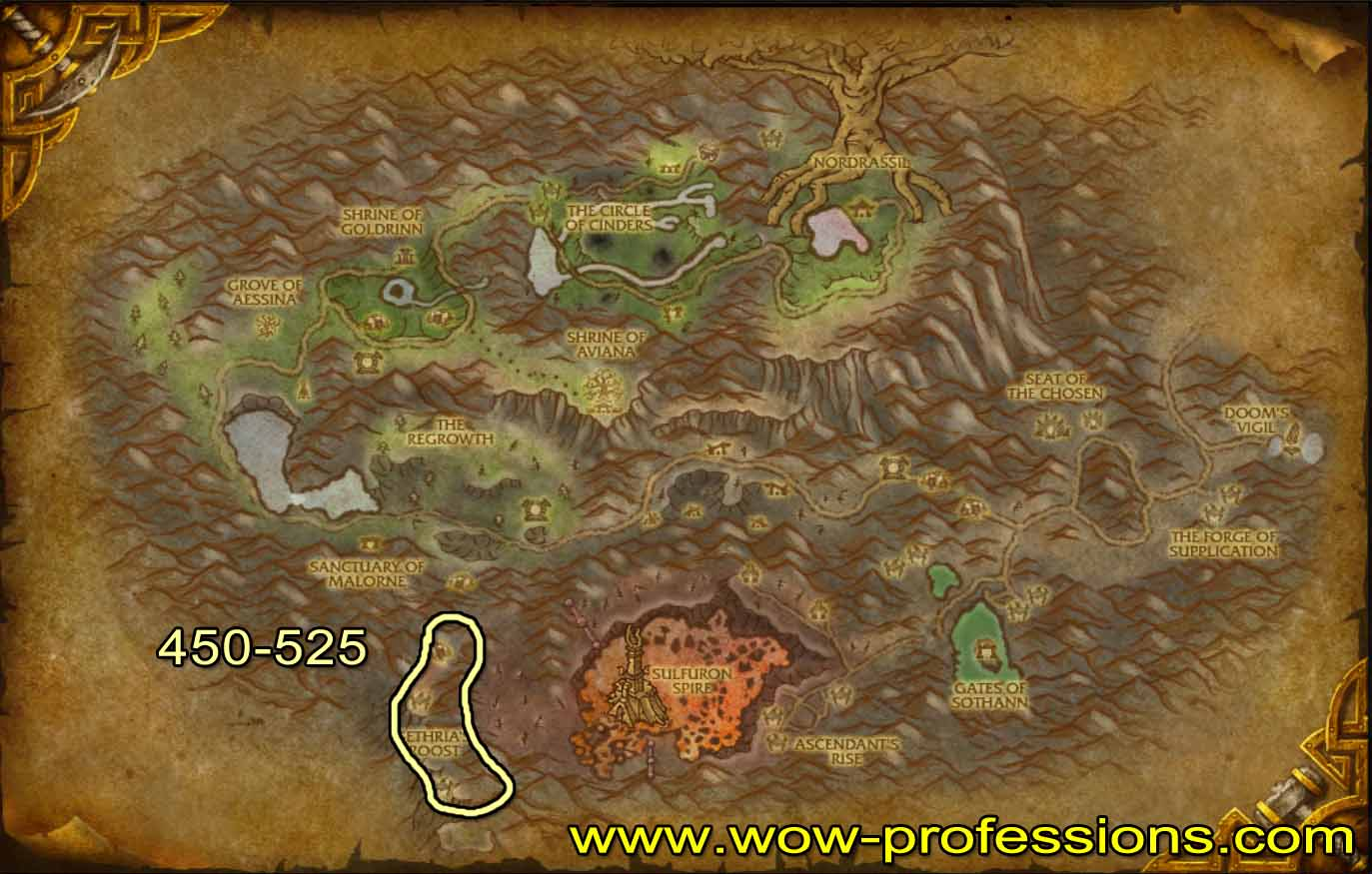 WoW human mount locations adult image