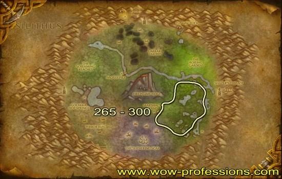 Un'Goro Skinning map